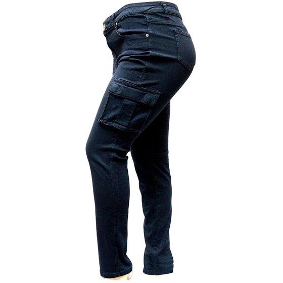 904b9132951 Jack David - Jack David Womens Plus Size Camouflage cargo Stretch Skinny  Leg twill Jean Pants - Walmart.com