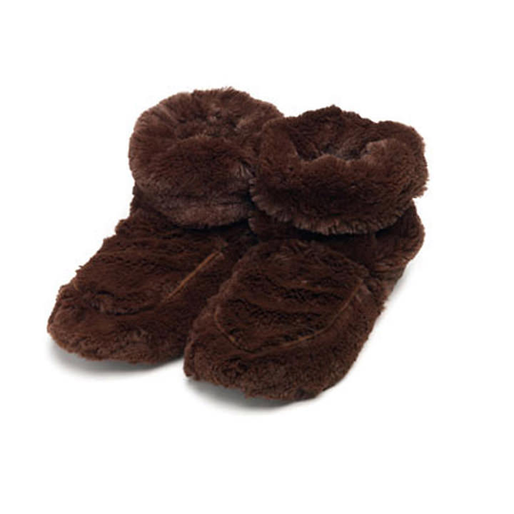 Brown Cozy Boots by Intelex USA