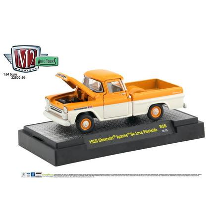 M2 Machines Auto Trucks 1:64 1959 Chevrolet Apache De Luxe Fleetside Release