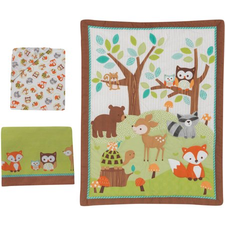 Lambs Amp Ivy Bedtime Originals Friendly Forest 3 Piece Crib