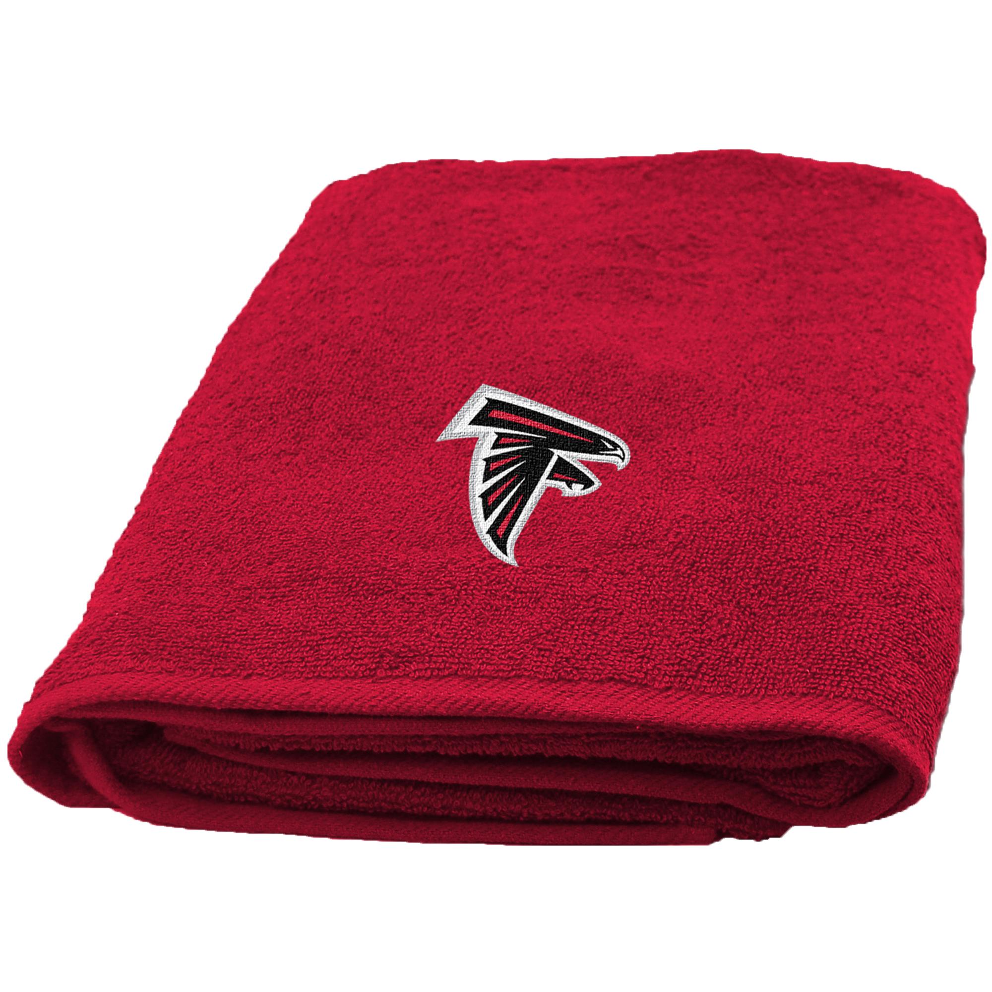 Atlanta Falcons The Northwest Company 25'' x 50'' Applique Bath Towel - No Size