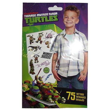 Ninja Turtles Tattoos (Teenage Mutant Ninja Turtles 75 Temporary)