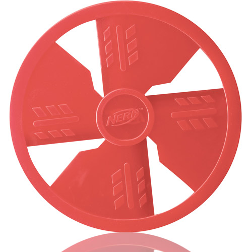 "Nerf 10"" Dog TPR Flyer, Red"