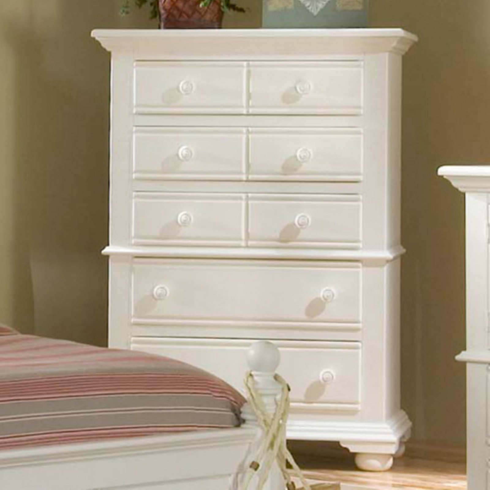Stupendous American Woodcrafters Cottage Traditions 5 Drawer Chest Best Image Libraries Counlowcountryjoecom