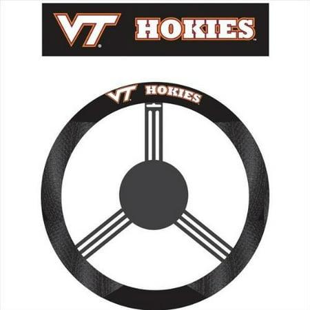 - NCAA Virginia Tech Hokies Poly-Suede Steering Wheel Cover