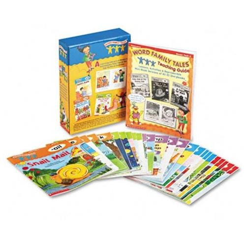 Scholastic Word Family Tales Teaching Guide Activity Printed Book - Softcover (054506774x)