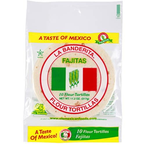 "(3 Pack) La Banderita Flour 6"" Tortillas, 20 ct"