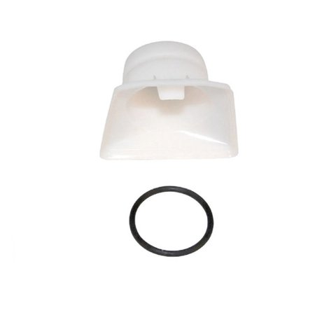 Hoover Porta Power Bag Support Tube Adapter With Rubber Ring Part - (Power Tube Adaptor)