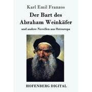 Der Bart des Abraham Weinkäfer - eBook