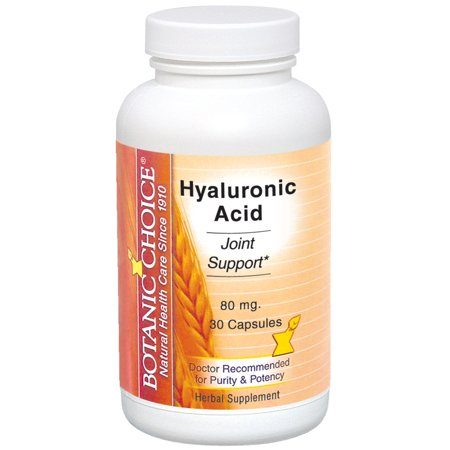 Botanic Choice Acide Hyaluronique, 80 mg, 30 Ct