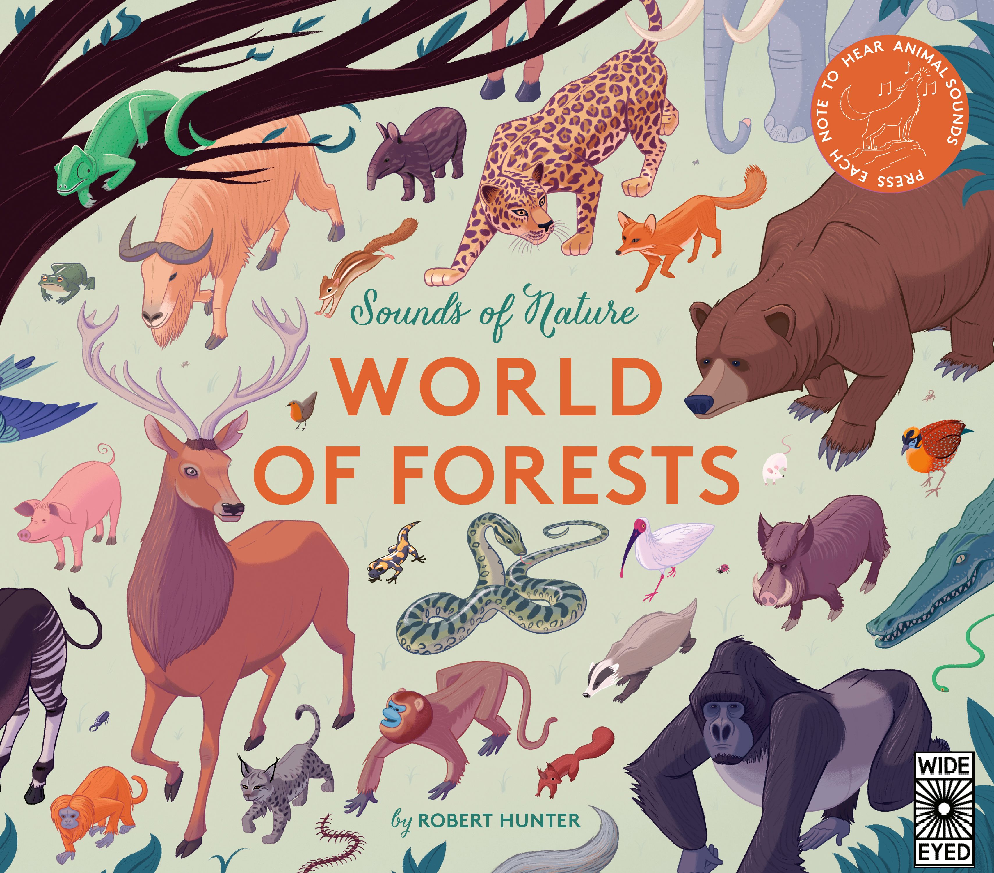 Sounds of Nature: World of Forests : Press Each Note to Hear