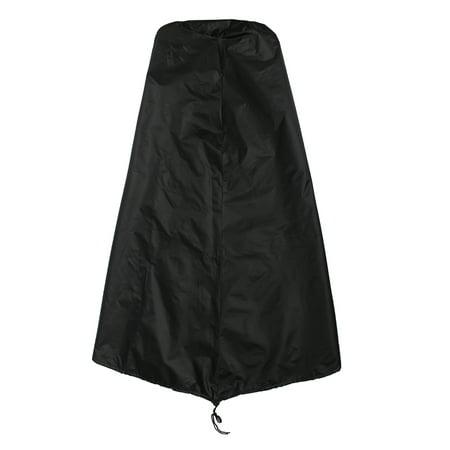 Garden Outdoor Waterproof UV Chimenea Shape Protector Quality Cover,Black  - image 5 of 7
