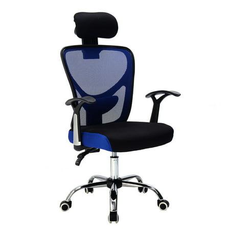 costway ergonomic mesh high back office chair computer. Black Bedroom Furniture Sets. Home Design Ideas