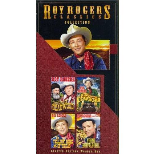 Roy Rogers Classics Collection: Bad Men of Deadwood / King Of The Cowboys / The Yellow Rose Of Texas / Young Buffalo Bill
