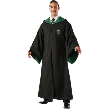 Harry Potter Slytherin Replica Deluxe Robe Men's Adult Halloween Costume - Harry Potter Slytherin Robe