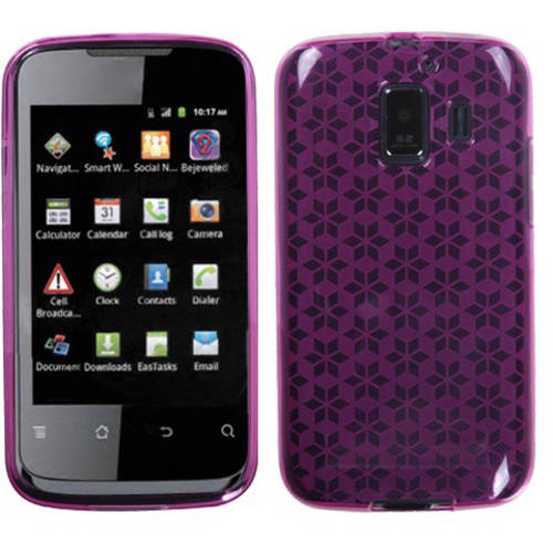 Huawei U8665 Fusion 2 MyBat Candy Skin Cover, Smoke Hexagon