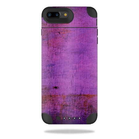 Mightyskins Protective Vinyl Skin Decal For Mophie Juice Pack Air Iphone 7 Plus Plus Wrap Cover Sticker Skins Purple Sky