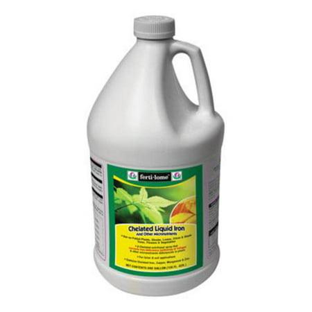Vegan Chelated Iron (Ferti-Lome 10635 Chelated Liquid Iron, 1-Gallon )