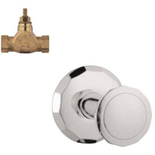 Grohe K19269-29273R-EN0 Kensington Volume Control Kit, Brushed Nickel