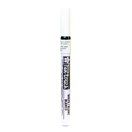Pen-Touch Marker 0.7 mm extra fine, white (pack of 4)