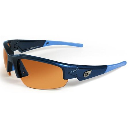 Tennessee Titans Sunglasses Dynasty 2. 0 Blue with Light Blue Tips by