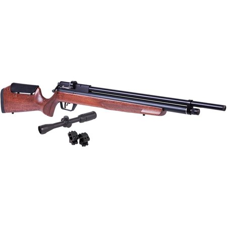 Benjamin Marauder Wood .22 Caliber PCP Air Rifle and CenterPoint 3-9x32 Scope Value