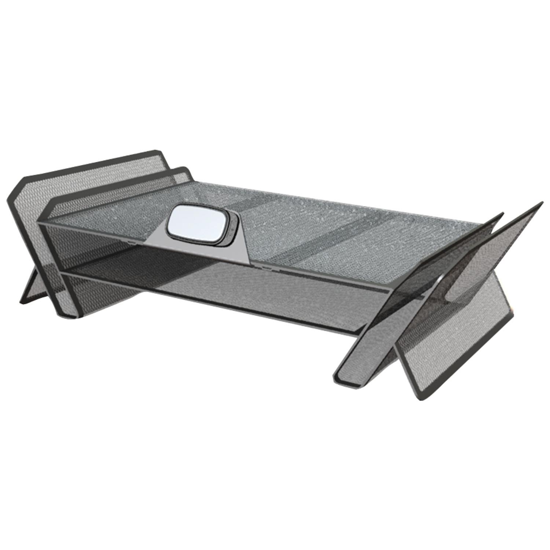 Allsop, ASP30645, DeskTek Monitor Stand, 1 Each, Gray