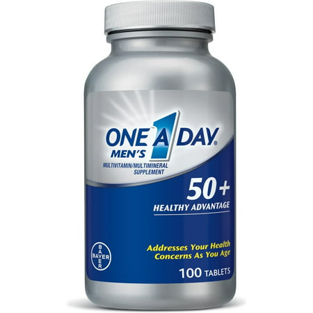 One-A-Day 50+ Avantage santé multivitamines 100 ch Men (Pack de 6)