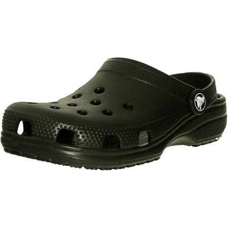 (Crocs Boy's Classic Clog K Black Ankle-High Sandal - 2M)