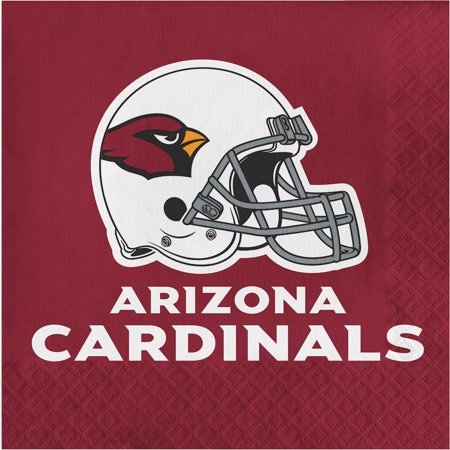 Creative Converting Arizona Cardinals Napkins, 16 ct