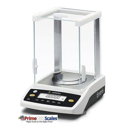 Sartorius ENTRIS64-1S Analytical Balance, 60 x 0.0001 g, External