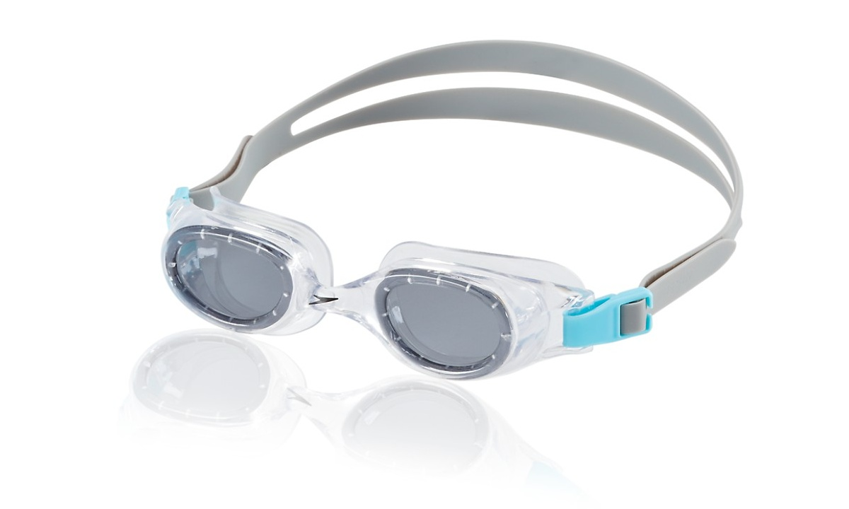 Speedo Jr. Hydrospex Classic Goggle Kids Swim Goggle Smoke Ice by Speedo
