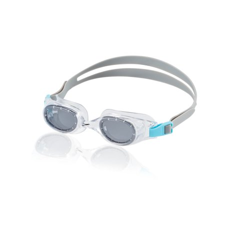 Classic Goggles (Speedo Jr. Hydrospex Classic Goggle - Kids Swim Goggle - Smoke Ice)