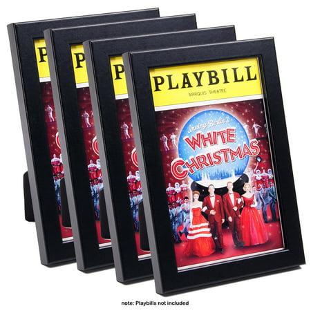 CreativePF [5.5x8.5bk] Theatre Playbill Frame - Displays 8.5 by 5.5 ...