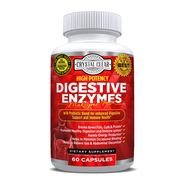Digestive Enzymes -60 Caps