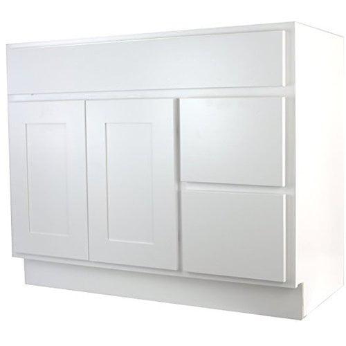 Cabinet Mania Shaker 42'' Bathroom Vanity Base