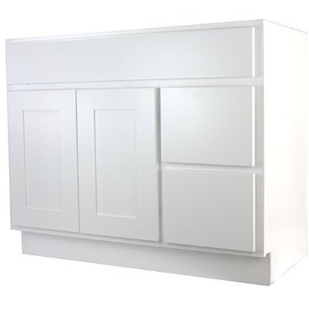 Cabinet Mania Shaker 42\'\' Bathroom Vanity Base