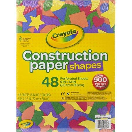 Crayola Construction Paper Shapes 9