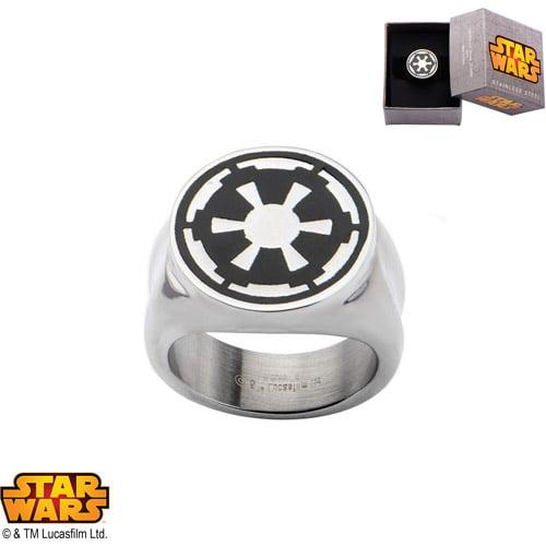Disney Stainless Steel Star Wars Imperial Ring