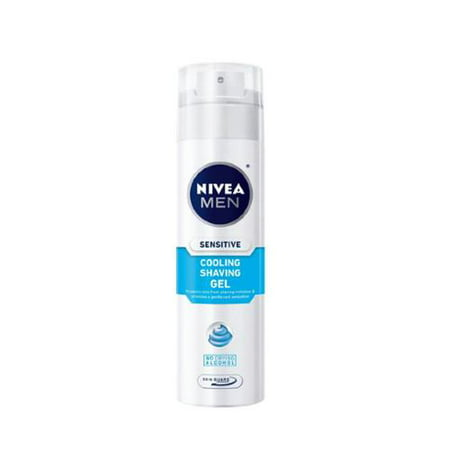 NIVEA FOR MEN Sensitive Cooling Shaving Gel 7 oz (Pack of (Best Nivea Men Men Hair Gels)