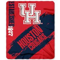 """NCAA Houston Cougars 50"""" x 60"""" Fleece"""