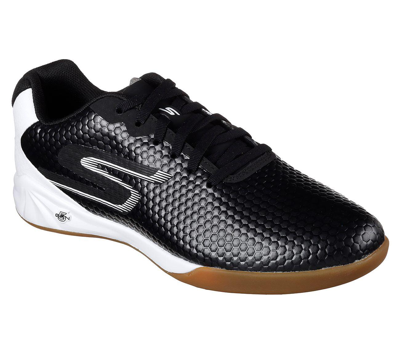 Skechers 54902BKW Men's Skechers Performance Soccer Leverage Soccer Shoes by Skechers
