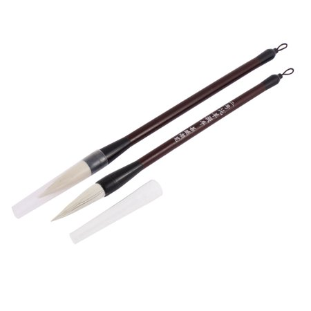Chinese calligraphy writing drawing brush pen 2pcs Drawing with calligraphy pens