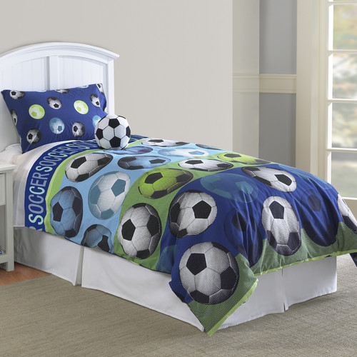 Hallmart Collectibles Soccer Comforter Set