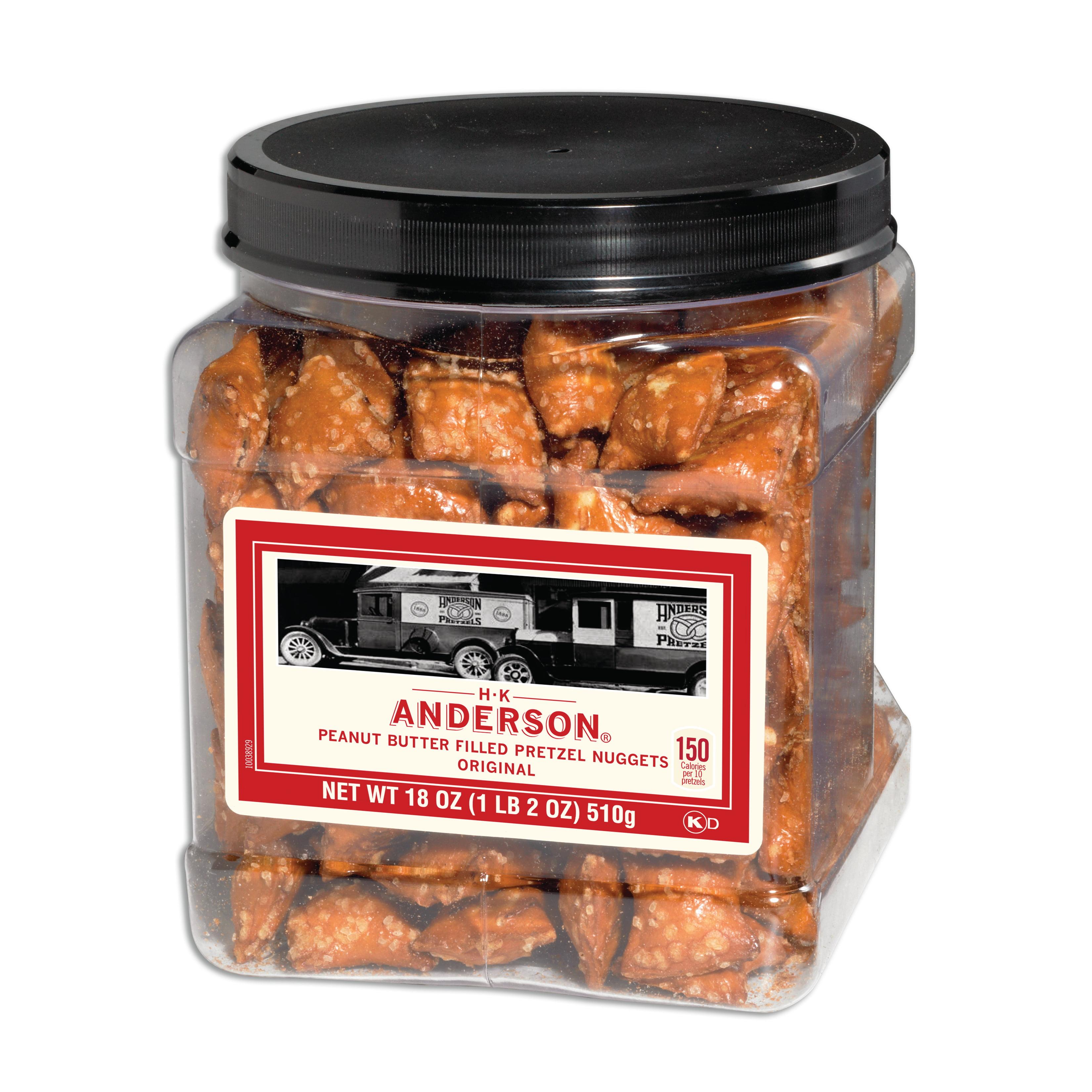 Anderson Bakery Hk Anderson Pb Pretzel Nugget 18 Oz
