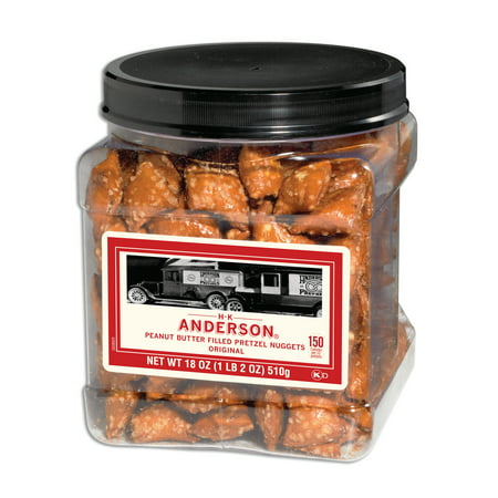 HK ANDERSON Peanut Butter Filled Pretzel Nuggets, 18 ounces - Walmart ...
