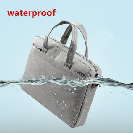 "Waterproof Computer Laptop Notebook Bag Case Single Shoulder Tablet bags Unisex for MacBook, Dell, HP 13""-15"" by Epiktec - image 1 of 9"