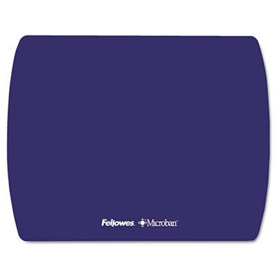 Microban Ultra Thin Mouse Pad  Sapphire Blue  Sold As 1 Each