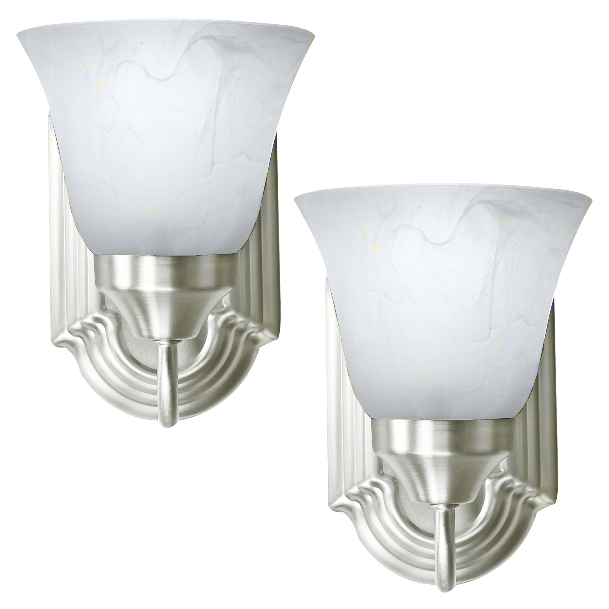 2 Pack Of Bennington Luna Wall Sconce