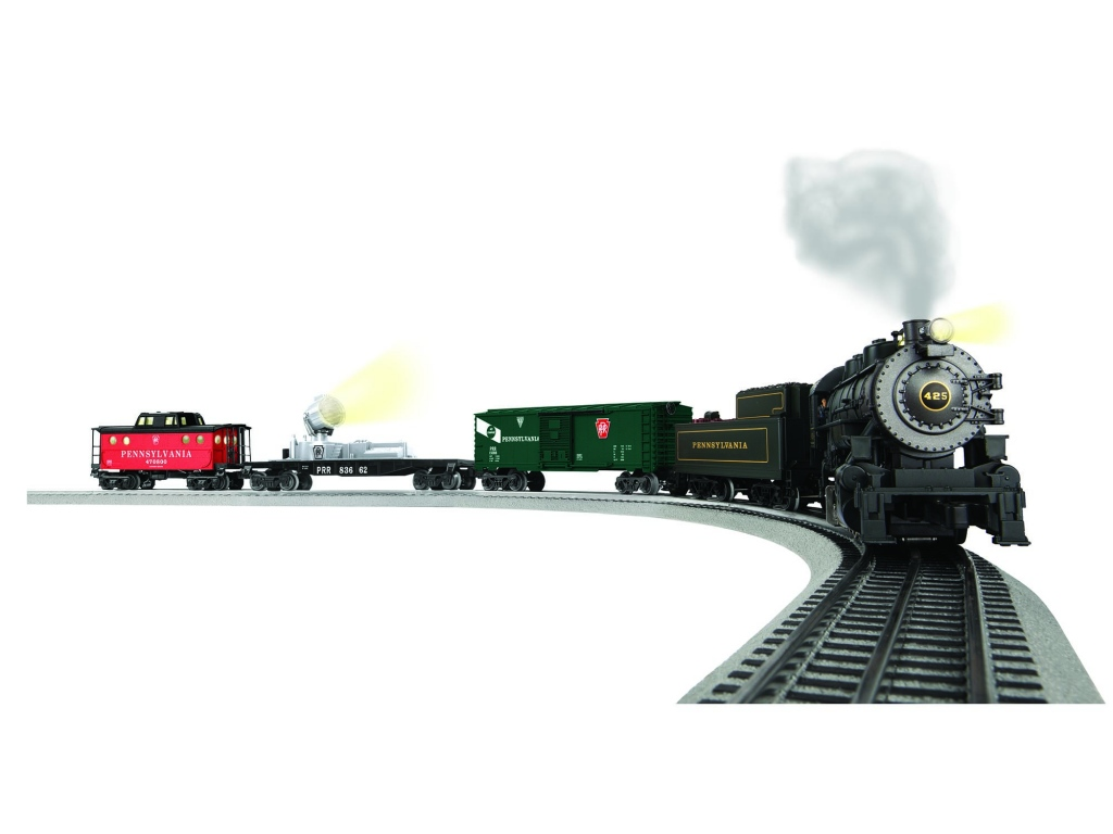 Lionel 6-83659 PennSylvania Keystone Special Lionchief Steam Train Set w Remote by Lionel